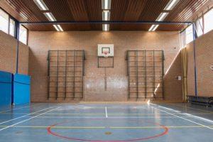 Gymzaal-sportvloer