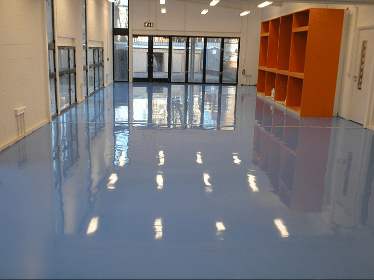 epoxy coatingvloer