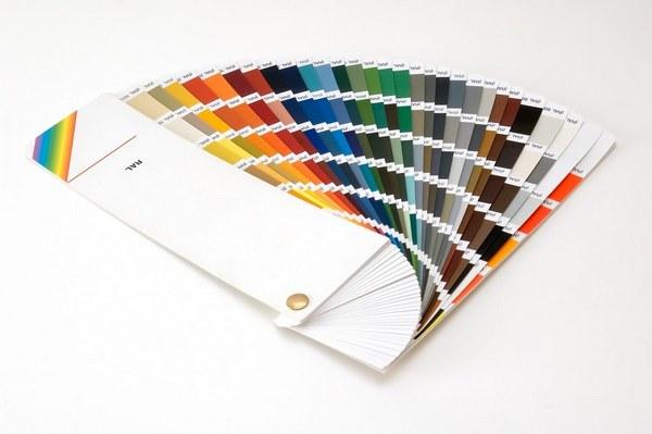 Kleuren RAL-Kleurenwaaier